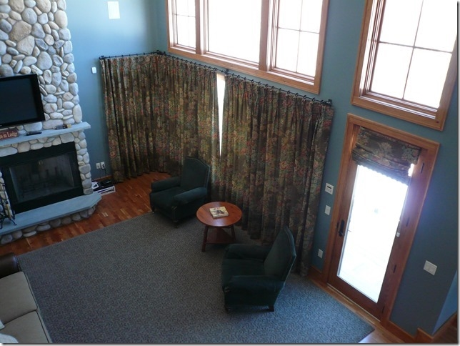 draperies installed in bretton woods nh
